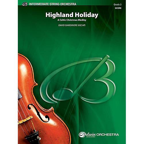 Alfred Highland Holiday String Orchestra Grade 3 Set-thumbnail