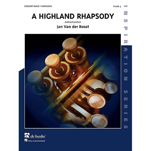 Hal Leonard Highland Rhapsody Score Only Concert Band-thumbnail