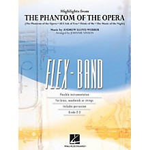 Hal Leonard Highlights From The Phantom Of The Opera - FlexBand Level 2 - 3