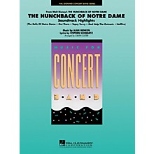 Hal Leonard Highlights from Hunchback of Notre Dame Concert Band Level 4 Arranged by Calvin Custer