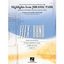 Hal Leonard Highlights from Jurassic Park Concert Band Level 2-3 Arranged by Johnnie Vinson