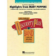 Hal Leonard Highlights from Mary Poppins - Discovery Plus Band Level 2 arranged by Sean O'Loughlin