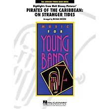 Hal Leonard Highlights from Pirates of the Caribbean: On Stranger Tides - Young Concert Band Level 3 by Michael Brown