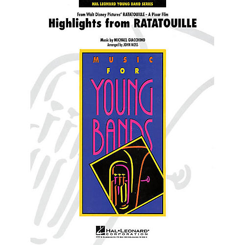 Hal Leonard Highlights from Ratatouille - Young Concert Band Level 3 by John Moss-thumbnail
