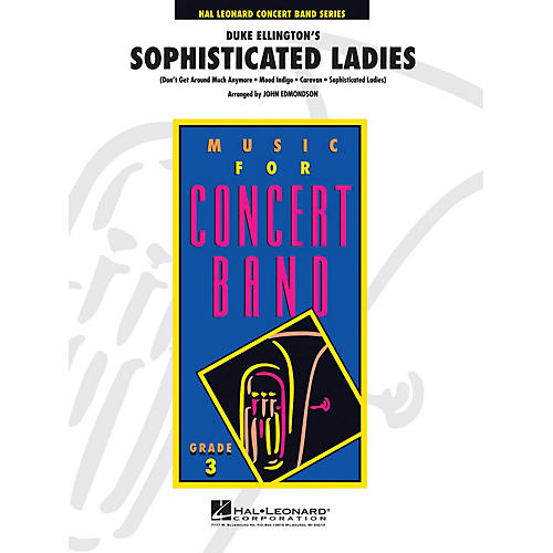 Hal Leonard Highlights from Sophisticated Ladies - Young Concert Band Level 3 arranged by John Edmondson-thumbnail