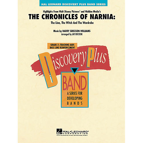 Hal Leonard Highlights from The Chronicles of Narnia - Discovery Plus Band Series Level 2 arranged by Jay Bocook