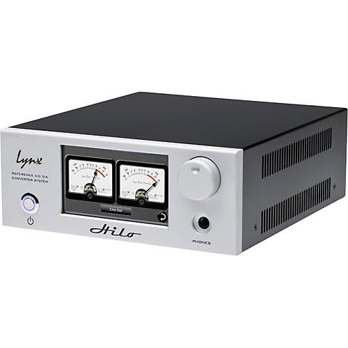 Lynx Hilo Thunderbolt Silver Reference AD/DA Converter-thumbnail
