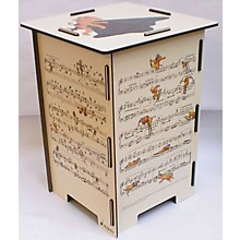 Schott Hindemith Ludus Tonalis Stool/Side Table Schott Series