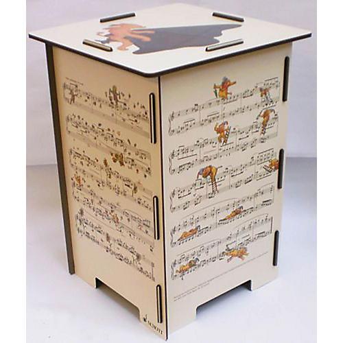 Schott Hindemith Ludus Tonalis Stool/Side Table Schott Series-thumbnail