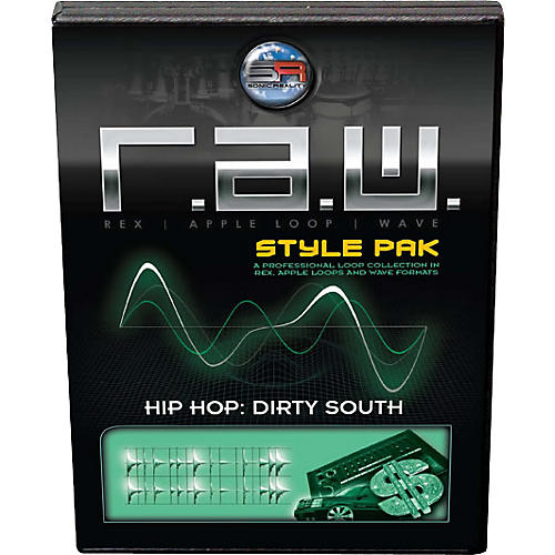 Sonic Reality Hip Hop: Dirty South R.A.W. Style Pak