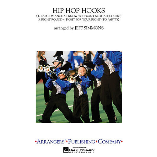 Arrangers Hip-Hop Hooks Marching Band Level 2-3 by Lady Gaga Arranged by Jeff Simmons-thumbnail