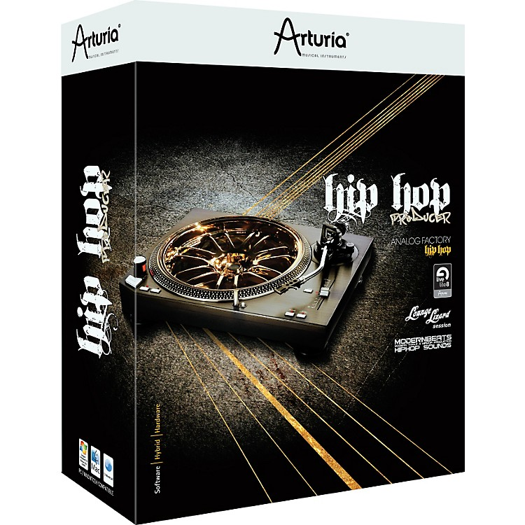 Arturia Hip Hop Producer Software