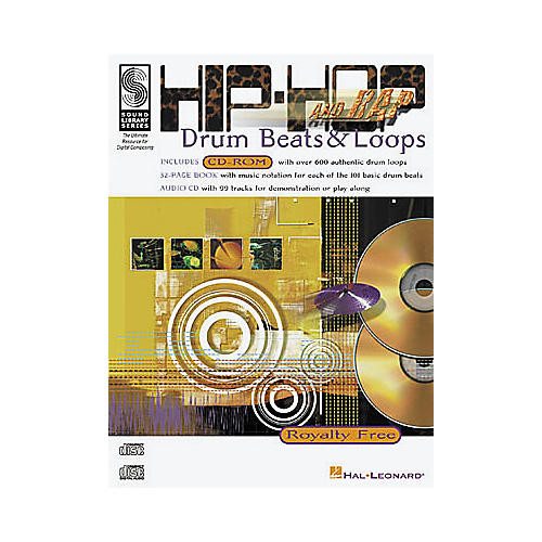 Hal Leonard Hip-Hop and Rap Drum Beats and Loops (Drums)