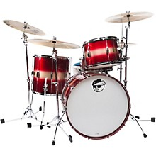 "Pork Pie Hip Pig 3-Piece Mahogany shell Pack with 22"" Bass Drum"
