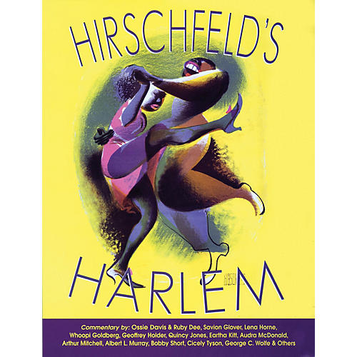 Glenn Young Books/Applause Hirschfeld's Harlem Applause Books Series Softcover Written by Al Hirschfeld