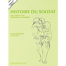 Music Sales Histoire Du Soldat (The Soldier's Tale) Stravinsky Authorized Edition Study Score