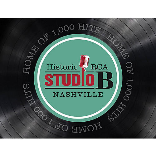 Country Music Hall of Fame Historic RCA Studio B Nashville (Home of 1,000 Hits) Book Series Softcover by Country Music Hall of Fame-thumbnail