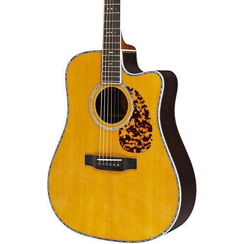 Blueridge Historic Series BR-180CE Cutaway Dreadnought Acoustic-Electric Guitar-thumbnail