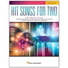 Hal Leonard Hit Songs for Two Flutes - Easy Instrumental Duets
