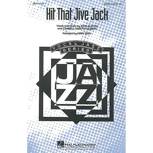 Hal Leonard Hit That Jive Jack SATB arranged by Kirby Shaw
