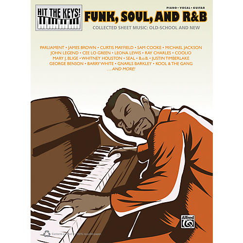 Hal Leonard Hit the Keys! Funk, Soul, and R&B Piano/Vocal/Guitar Book