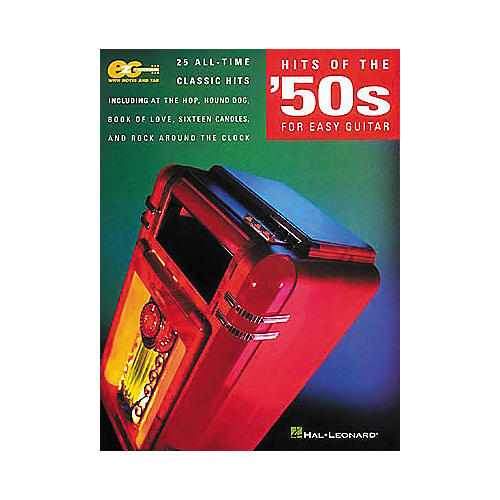 Hal Leonard Hits of the 50's for Easy Guitar Book