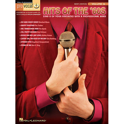 Hal Leonard Hits of the '60s (Pro Vocal Men's Edition Volume 36) Pro Vocal Series Softcover with CD by Various-thumbnail
