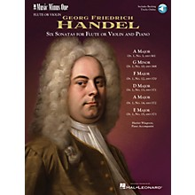 Music Minus One Händel - Six Sonatas for Flute and Piano Music Minus One Series Softcover with CD by Georg F. Handel