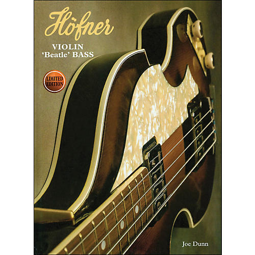 Hal Leonard Hofner Violin Beatle Bass Book