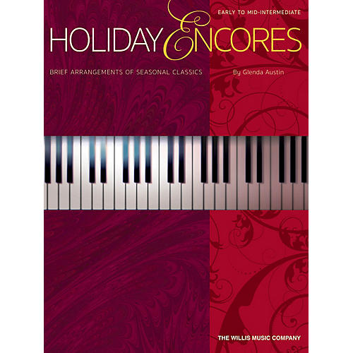 Willis Music Holiday Encores (Early to Mid-Inter Level) Willis Series Book by Various-thumbnail