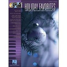 Hal Leonard Holiday Favorites - Piano Duet Play-Along Volume 36 (Book/CD)