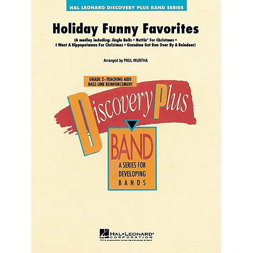 Hal Leonard Holiday Funny Favorites - Discovery Plus Concert Band Series Level 2 arranged by Paul Murtha-thumbnail