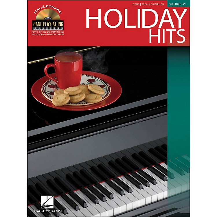 Hal LeonardHoliday Hits Volume 49 Book/CD Piano Play-Along arranged for piano, vocal, and guitar (P/V/G)