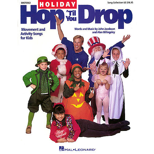 Hal Leonard Holiday Hop 'Til You Drop (Movement and Activity Collection) Composed by John Jacobson
