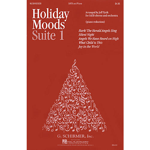 G. Schirmer Holiday Moods (SATB divisi) SATB Divisi composed by Various-thumbnail