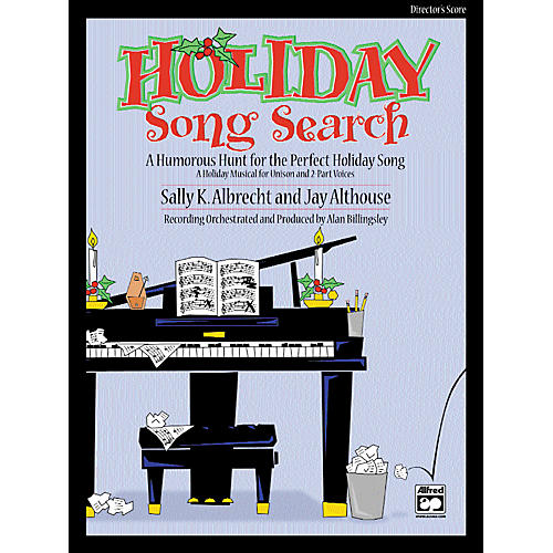 Alfred Holiday Song Search Director's Score-thumbnail