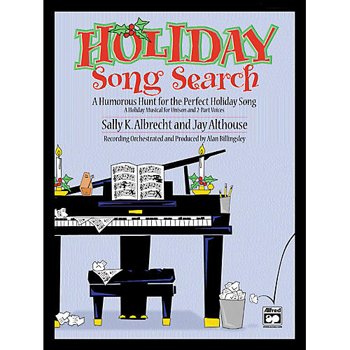 Alfred Holiday Song Search SoundTrax CD-thumbnail