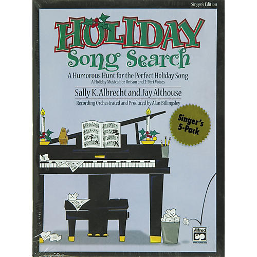 Alfred Holiday Song Search: Student 5 Pack-thumbnail