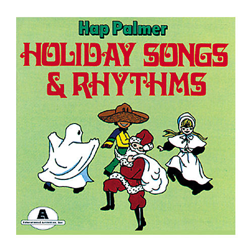 Educational Activities Holiday Songs and Rhythms (Cassette)-thumbnail