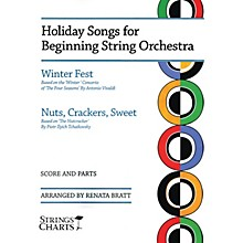 String Letter Publishing Holiday Songs for Beginning String Orchestra String Letter Publishing Series Softcover by Renata Bratt