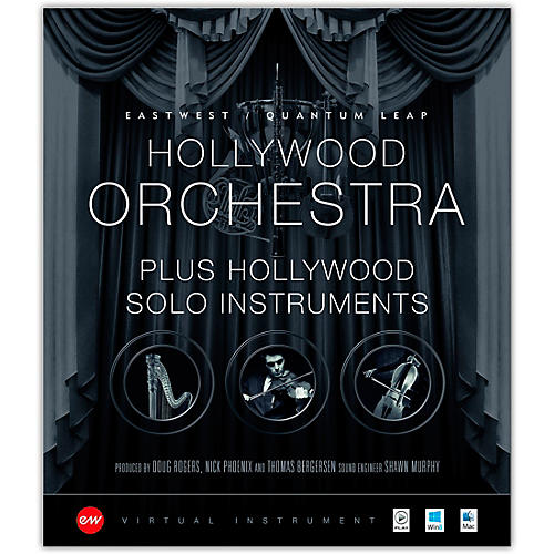 EastWest Hollywood Orchestra + Solo Instruments Bundle - Gold-thumbnail