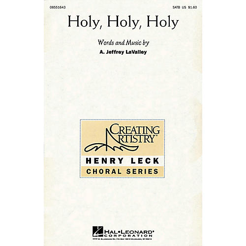 Hal Leonard Holy, Holy, Holy SATB composed by A. Jeffrey LaValley-thumbnail