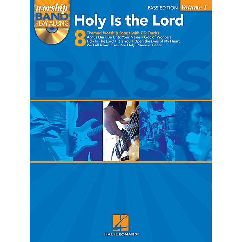 Hal Leonard Holy Is the Lord - Bass Edition Worship Band Play-Along Series Softcover with CD Composed by Various-thumbnail
