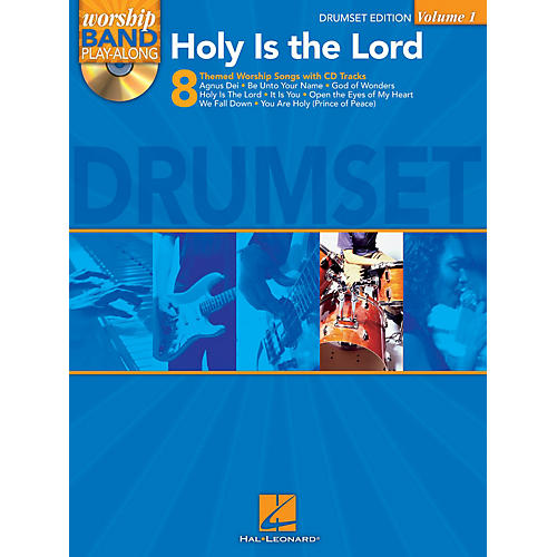 Hal Leonard Holy Is the Lord - Drum Edition Worship Band Play-Along Series Softcover with CD Composed by Various-thumbnail