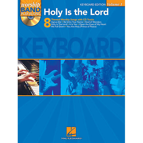 Hal Leonard Holy Is the Lord - Keyboard Edition Worship Band Play-Along Series Softcover with CD Composed by Various-thumbnail
