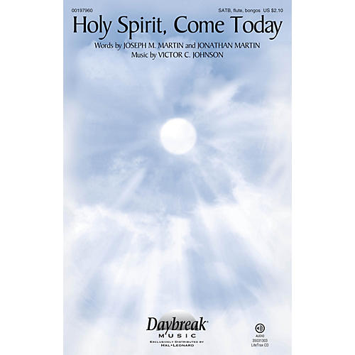 Daybreak Music Holy Spirit, Come Today SATB/FLUTE/BONGOS composed by Victor C. Johnson-thumbnail