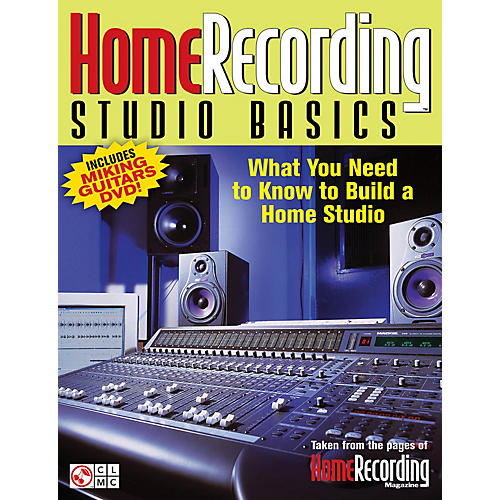 Cherry Lane Home Recording Studio Basics Book Series Softcover with DVD Written by Various Authors