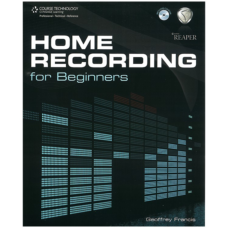 Course Technology PTR Home Recording for Beginners Book & CD