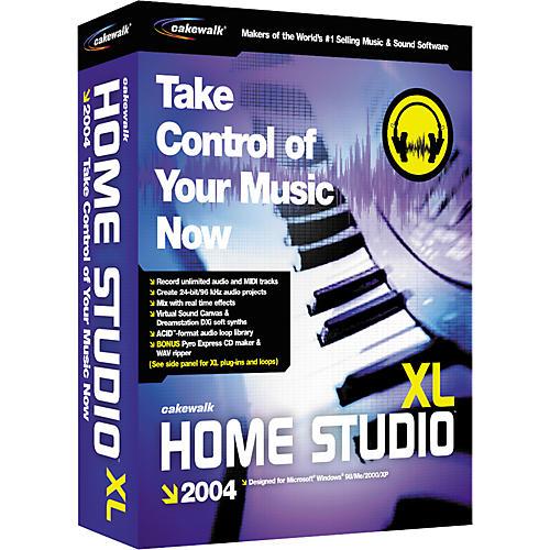 Cakewalk Home Studio 2004 XL - ReasonTalk com