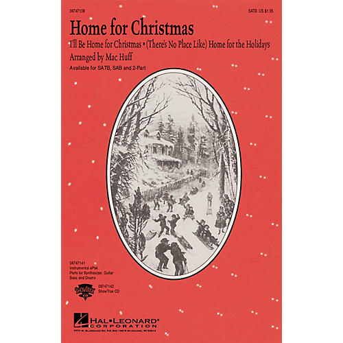 Hal Leonard Home for Christmas (Medley) SAB Arranged by Mac Huff-thumbnail